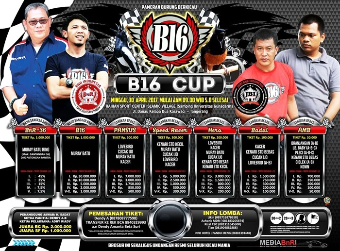 01. Brosur B16 Cup