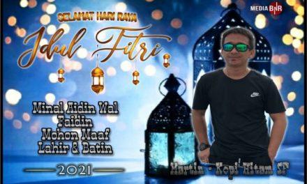 Mr. Martin-Kopi Hitam SF Semarang Mengucapkan Selamat Hari Raya Idul Fitri 1442 H