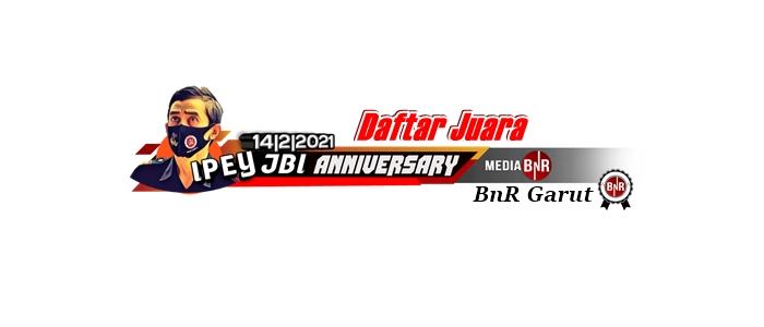 DAFTAR JUARA ANNIVERSARY IPEY JBI BnR GARUT 14-02-2021