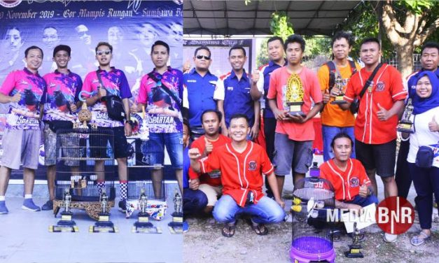 Spartan Raih Terbaik, Sokongan Liontin Bikin JB Brother Raih Juara Umum