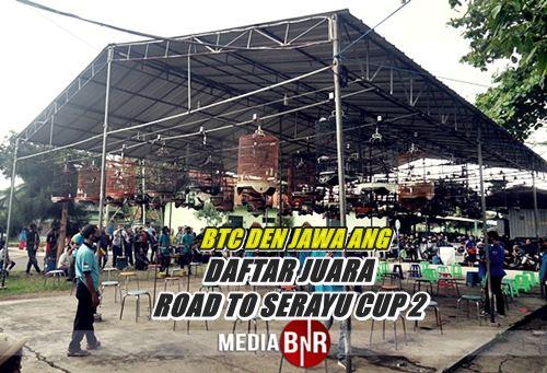 DAFTAR JUARA ROAD TO SERAYU CUP 2 BTC DEN JASA ANG BANDUNG TIMUR 17-10-2020