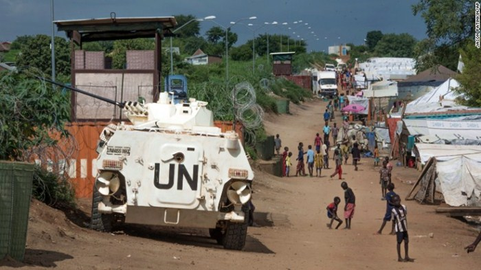 Suasana Kota Sudan (foto: ist)