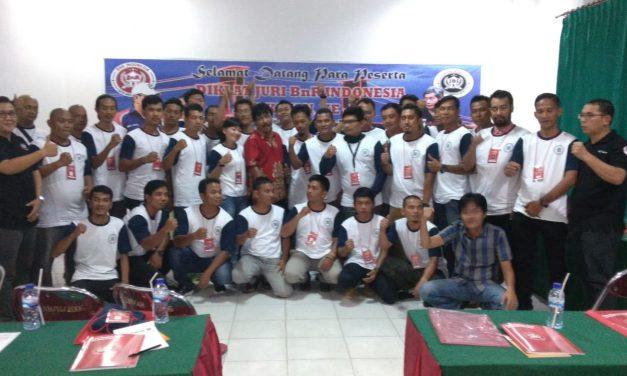 Dihadiri 35 Peserta Diklat Juri BnR Angkatan 43 Di Palembang