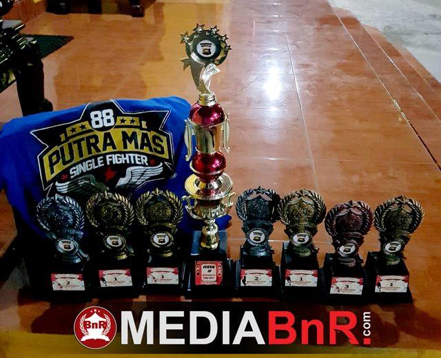 Santana Hattrick, Poetra Mas SF Raih Juara SF di Bhayangkara Cup Merangin