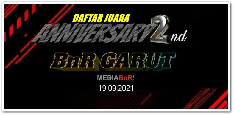 DAFTAR JUARA 2ND ANNIVERSARY ABSFBnR GARUT