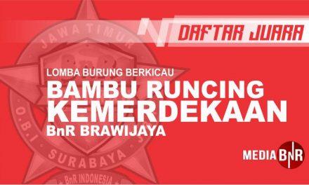 DAFTAR JUARA BAMBU RUNCING KEMERDEKAAN BnR BRAWIJAYA (11/08/2019)