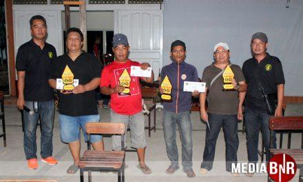 King Reed, Bara Api, Boncel dan Monic KLB, Empat Juara Bob Prima Toy Trophy Cup 1