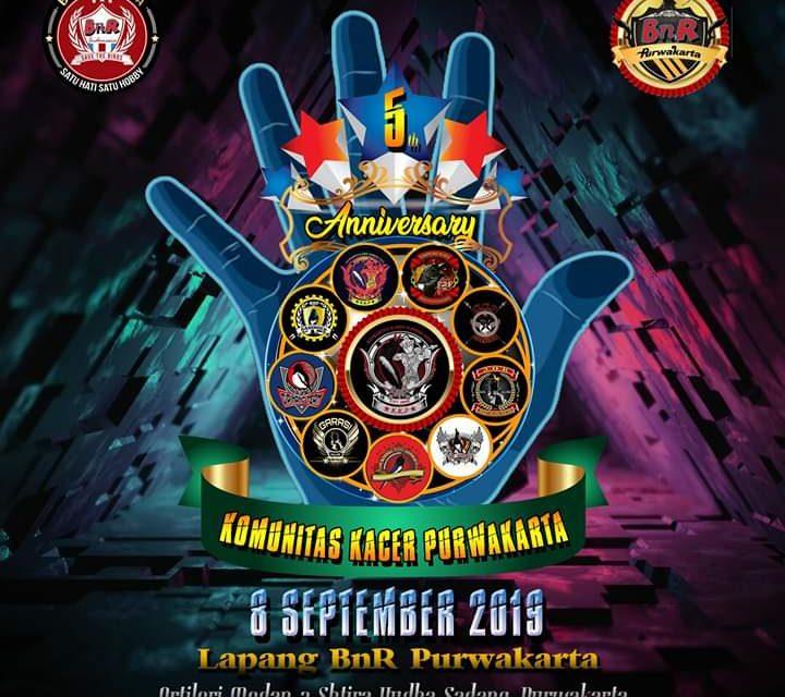 """5th Anniversary KKP (8 September 2019) """"KACER MANIA FIGHTER ABIS"""""""