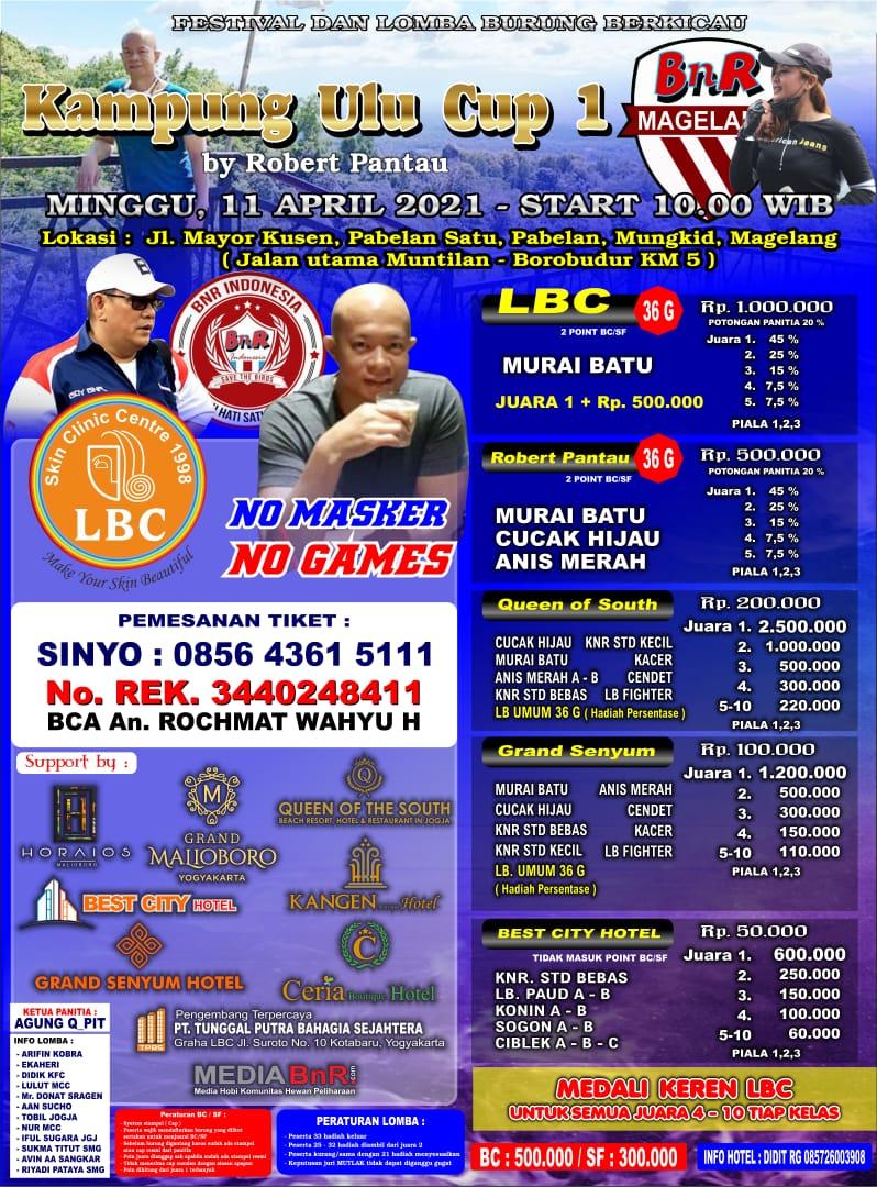 Brosur Kampung Ulu Cup I Magelang