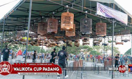 Walikota Padang Cup Sukses Dihadiri 1138 Kontestan