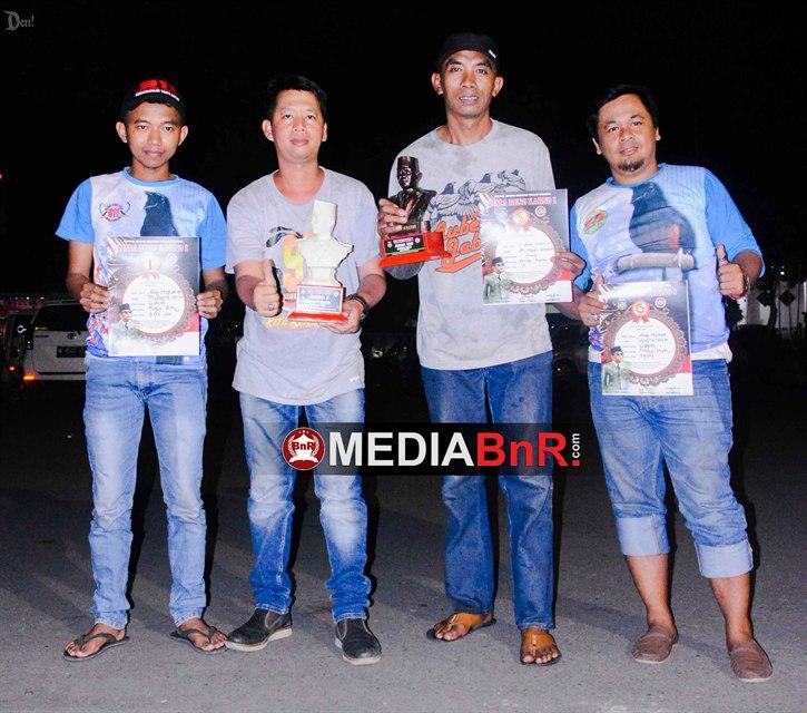 911 SF Berjaya dengan Murai batu GANAS yang menyabet juara pertama kelas utama Murai batu Bung Karno Cup 1