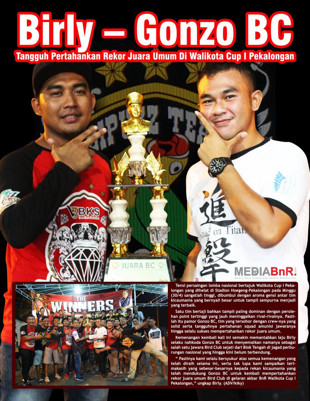 Birly – Gonzo BC : Tangguh Pertahankan Juara Umum di Walikota Cup I Pekalongan