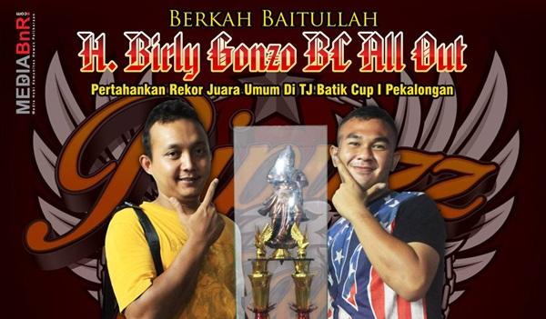 H. Birly Gonzo BC All Out : Pertahankan Rekor Juara Umum di TJ Batik Cup 1