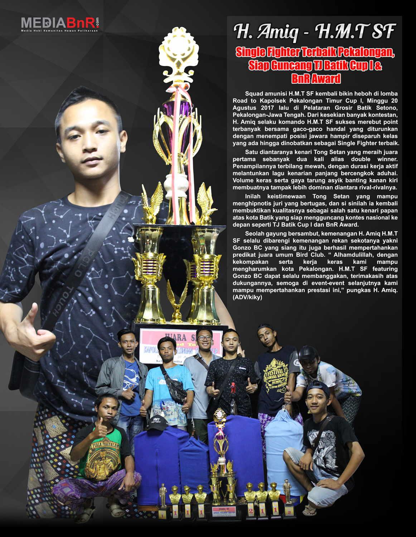 H. Amiq H.M.T SF – SF Terbaik Pekalongan, Siap Guncang TJ Batik Cup 1 & BnR Award