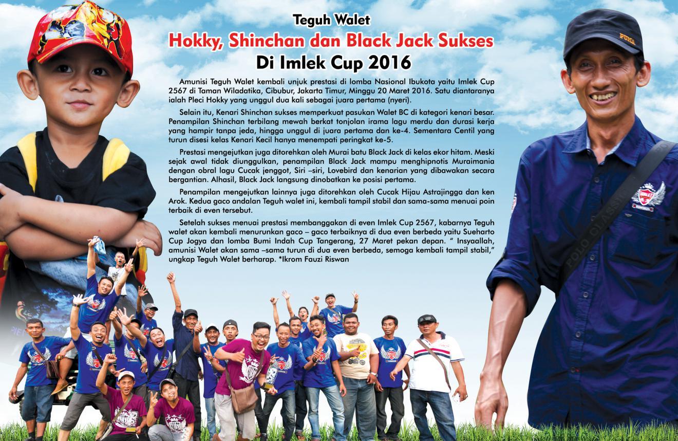 Hokky, Shincan dan Black Jack Sukses di Imlek Cup 2016