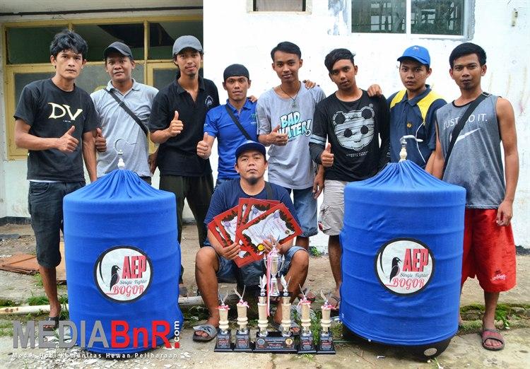 Borneo Semua Sesi Full, AEP SF Sandang Predikat Jawara MB