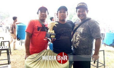 Didepan Bang Boy dan Petinggi BnR, Murai Batu Jenglot Unggul di Kelas Pembuka Road To Presiden Cup V Bekasi