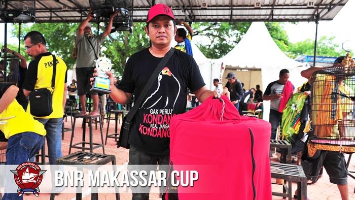 Ababil berhasil meraih trophy Murai Batu BnR Makassar