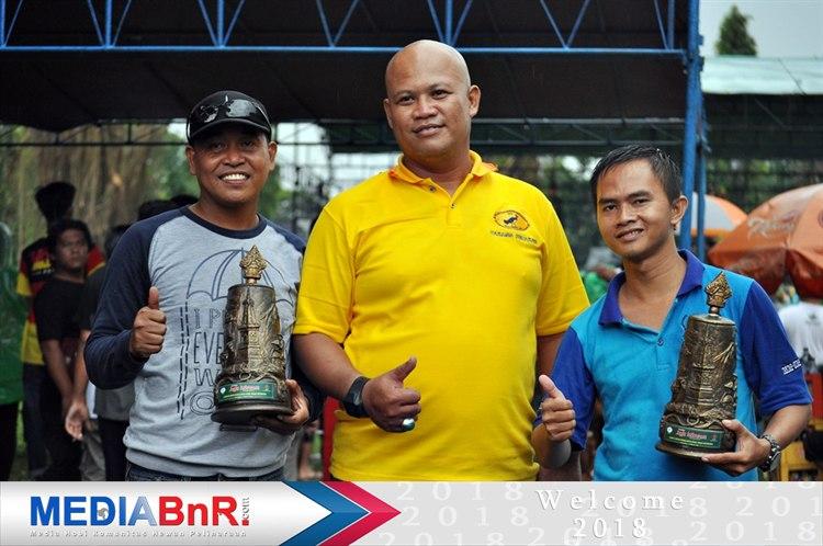 Abah Hudan bersama Mr.Ipunk  rayakan kemenangan MB Ganas dan Anak Lanang