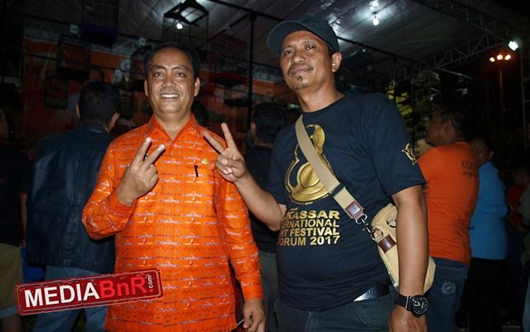 Abd. Rahman Bando (kiri) Bangga Kicaumania Turut Serta Ramaikan Festival F8
