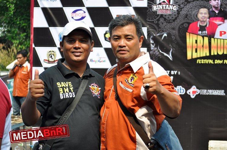 Achonk MDR dan Rizal Marta menjalin erat silaturahmi