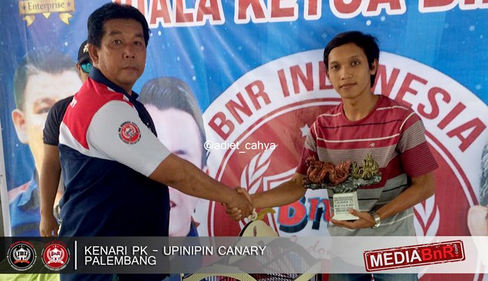 Pasca Mabung Kenari PK Besutan UpinIpin Canary Sabet Trophy Kenari Terbaik