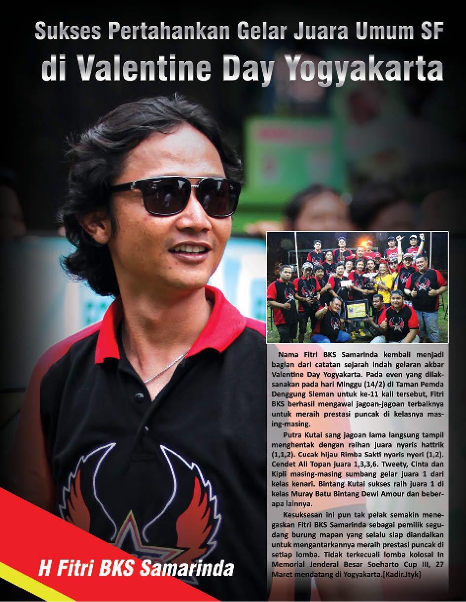 Sukses Pertahankan Gelar Juara Umum SF di Valentine Day Yogyakarta