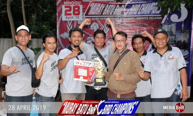 Rojo Langit Kembali Buktikan Terbaik   di BOB 36 Murai Batu Champion 3