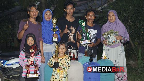 Jangkrik Ireng Double Winner di Murai Batu