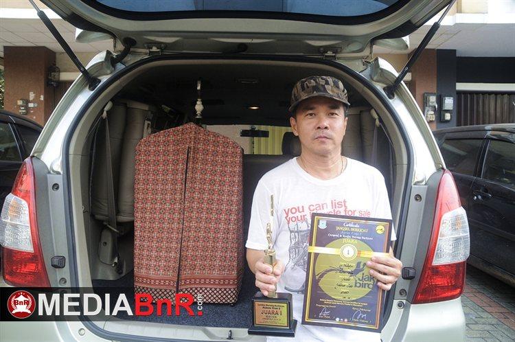 Andre Tan BSD kembali merayakan  kemenangan Kacer Matrix