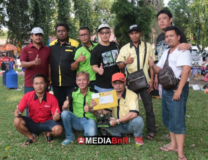 Dihadiri Pemain Lintas EO & Lintas Pulau, Yogi Naga Hitam & Sien Ronny Juara Umum