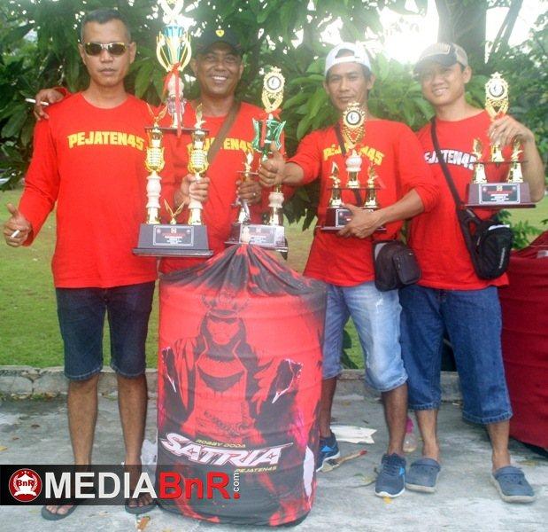 Ansel Pejaten Borong Juara
