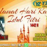 Zaenal Arifin. ST – Y333ZA Cargo Semarang Mengucapkan Selamat Hari Raya Idul Fitri 1442 H