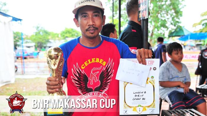 Asdar Kicau sukses kawal jagoan LBnya raih juara pertama