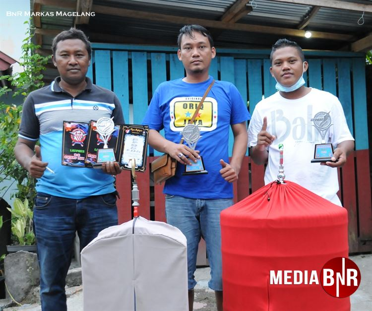 Avin AA- sukses antarkan Kacer Badai, Murai Killer dan Cendet Samson di podium utama