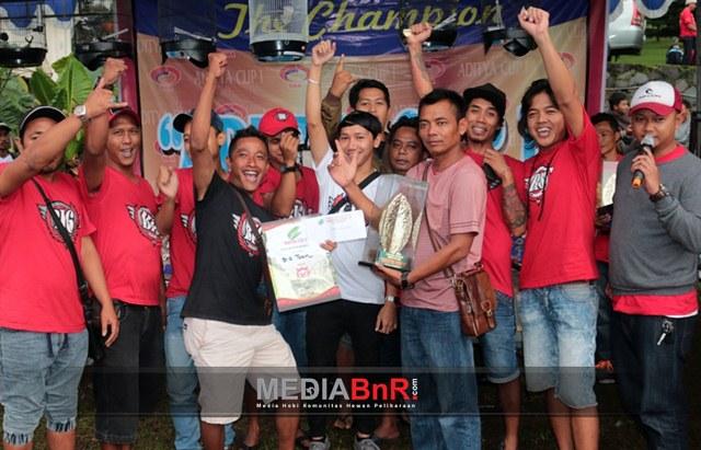 V3 BKS Dan B 16 Team Juara Umum