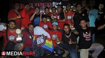 B 16 Team melaju sebagai Juara umum   BC digelaran Super Bird Champion