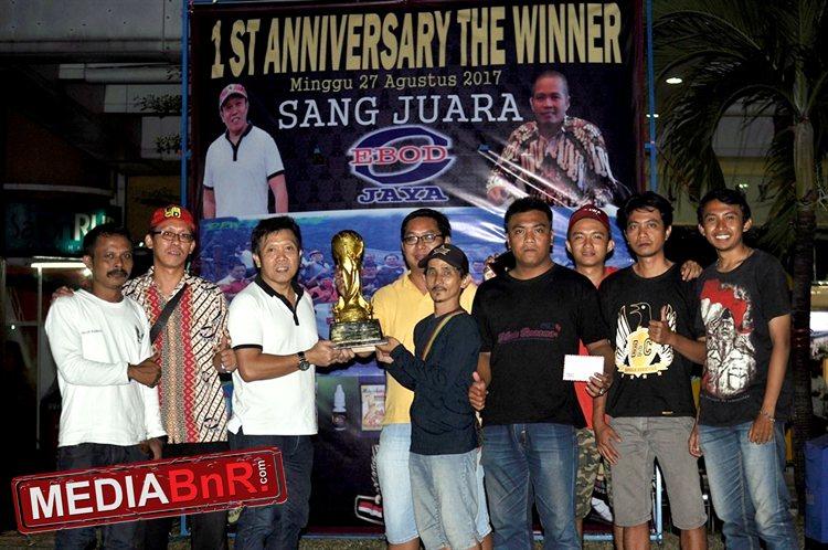 Robin Sukardi Antar B2C SF Raih Juara Umumdi 1st Anniversary The Winner