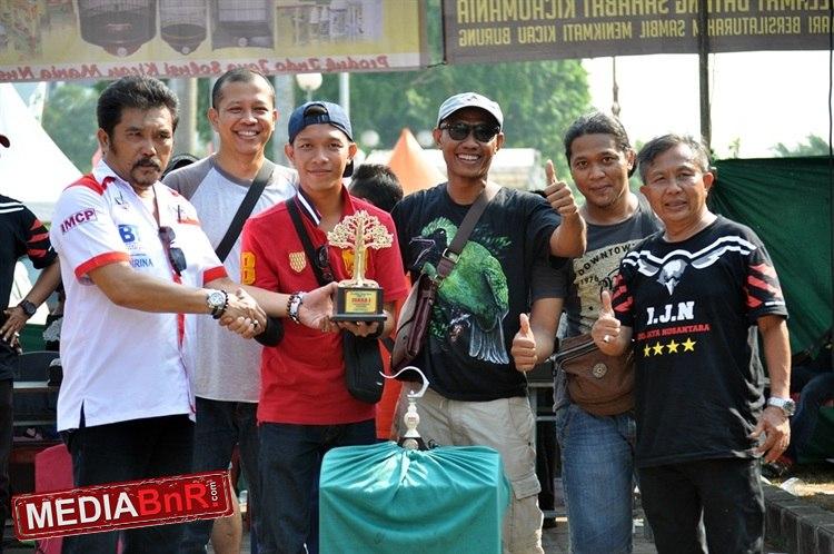 Cucak Hijau BBX Boyong 10 Juta di Festival Indojaya Cup 3