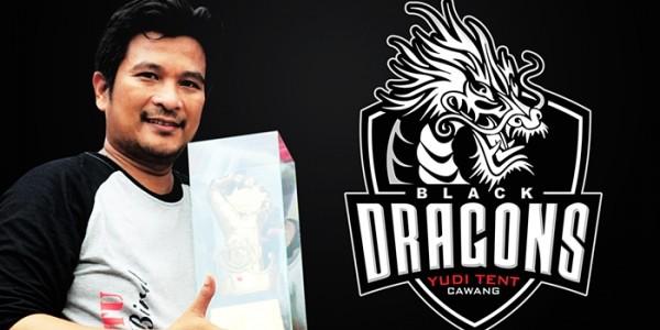 BLACK DRAGON resmi perkuat squad Murai Batu Yudi Tent.