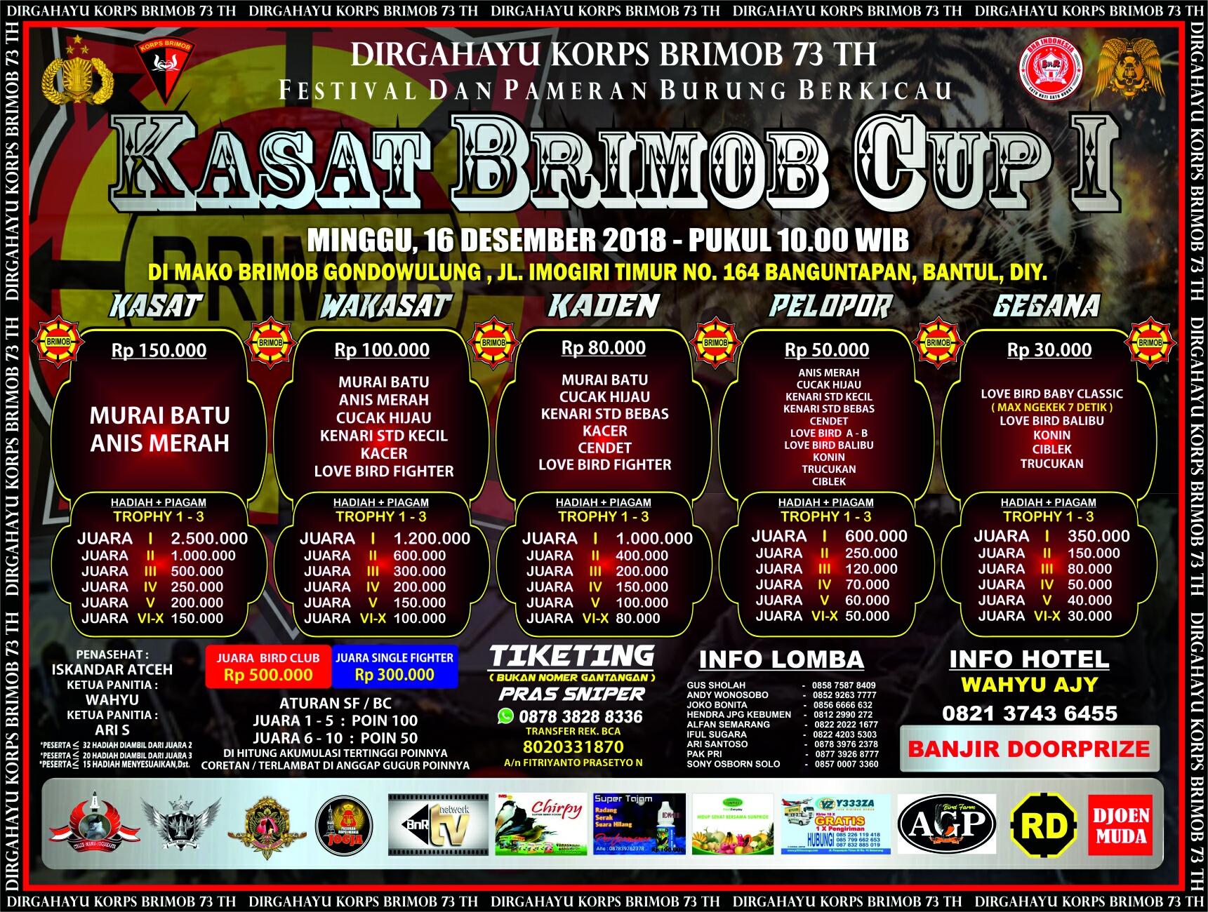 Daftar Juara Bandung Lautan Api Cup 1 Lap A Mediabnr Rkb Tegal Madu Mongso