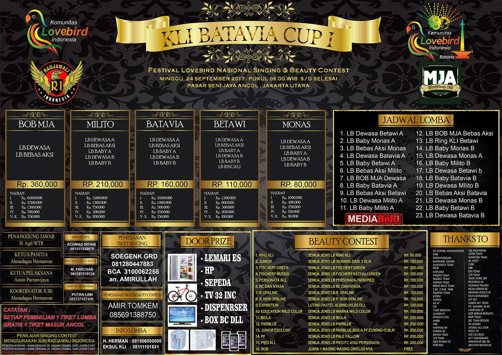 BROSUR KLI BATAVIA CUP 1 RGB
