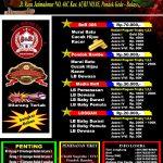 New BnR Prasetya Pondok Gede – 26 Feb, Tiket 70 Ribu, Hadiah Emas 5 gram, Untuk Murai Batu, Cucak Hijau & Kacer
