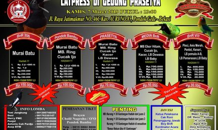 New BnR Prasetya Gelar Latpres Doorprize Emas