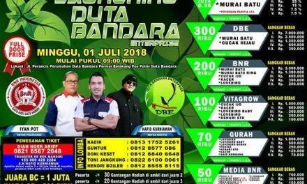 Launching Duta Bandara Bersama BnR – Dibuka Tiket 1 Juta Hingga 50 Ribu Rupiah