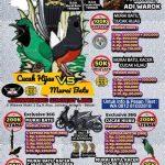 JBC Jatisari Bird Contest – Cucak Hijau vs Murai Batu Hadiah Motor