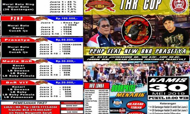 Berburu THR Cup di Prasetya Bekasi – Pompy Mbing P2HP : Kacer Mania Wajib Hadir!