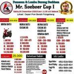BROSUR LOMBA MR SOEBOER CUP 1