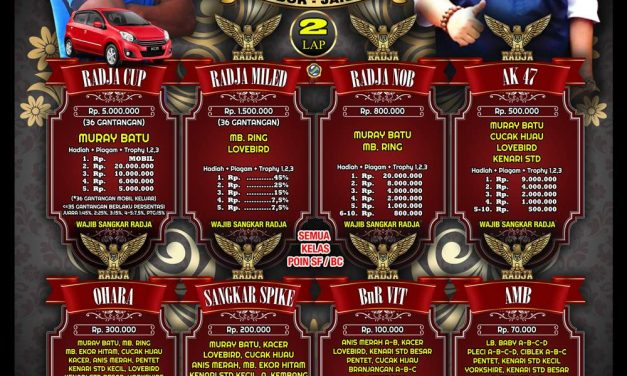 Radja Cup 23 September Pesta Kemenangan Kicaumania