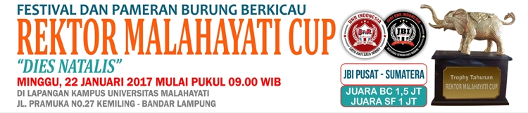 BROSUR REKTOR MALAHAYATI CUP banner mediabnr